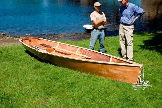 MSD Rowing Skiff - Fyne Boat Kits
