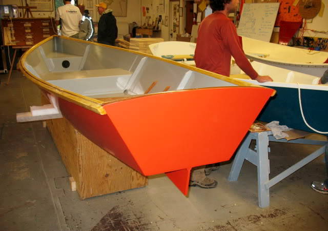 MSD Rowing Skiff designed by Michael Storer