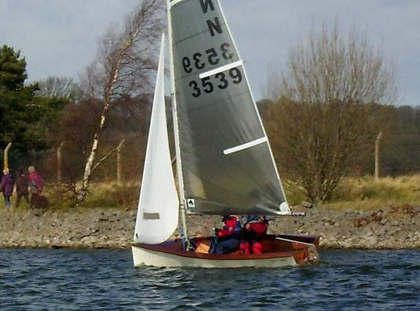 DIY racing dinghy - Fyne Boat Kits' new National 12