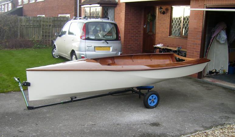 Modern design National 12 boat available from Fyne Boat Kits