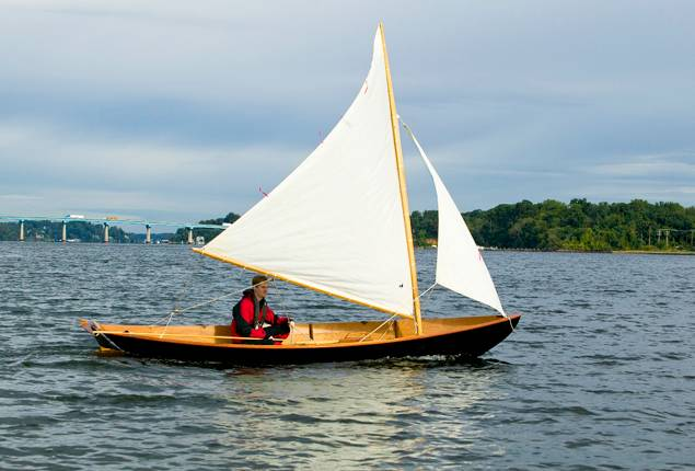 Northeaster Dory sailing boat