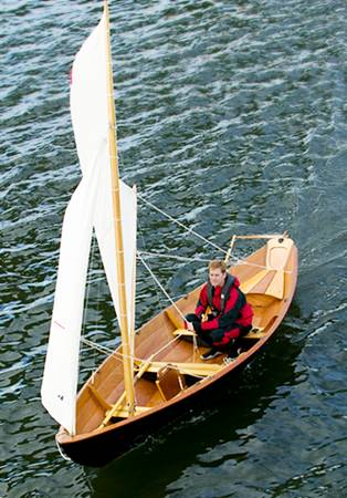 Northeaster Dory sailing dinghy