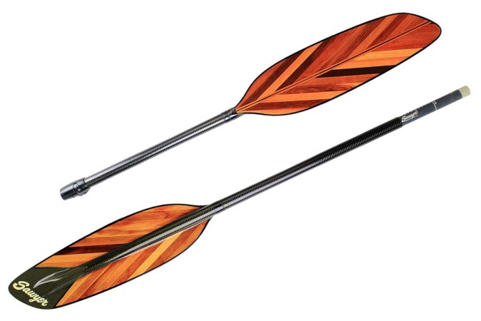 Sea Feather carbon take-apart shaft kayak paddle