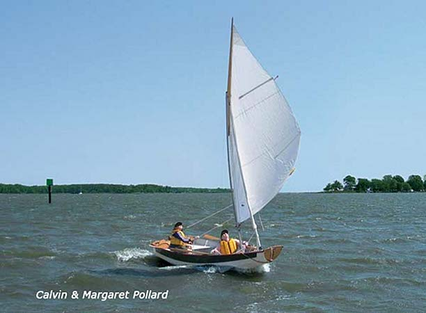 Surf sailing in a diy Passagemaker