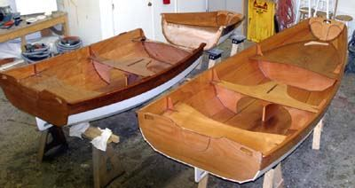Passagemaker take-apart rowing boat