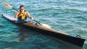 Just drifting along in the late afternoon in my build it yourself kayak