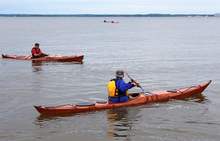 Petrel and Petrel Play stitch and glue sea kayaks