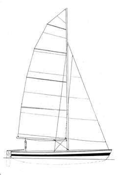 Pixie catamaran sail plan