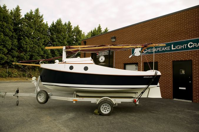 Build your own trailer sailer