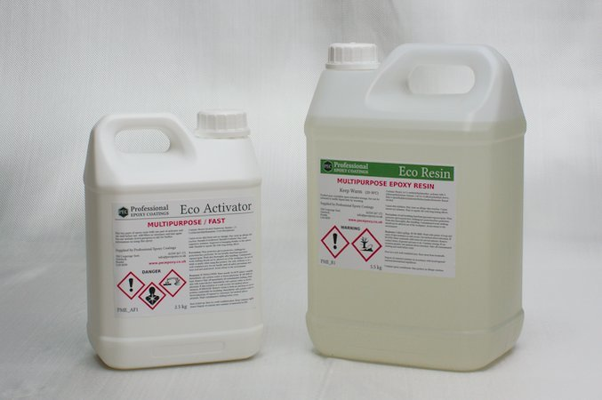 PEC Multipurpose Eco Epoxy is an environmentally-friendly bio-resin that is water-clear