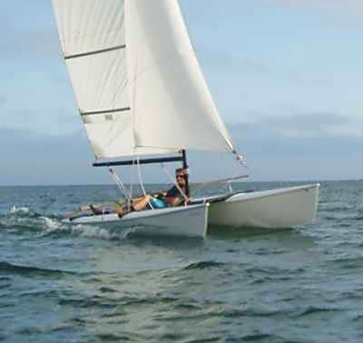 Quattro 14 Beach Catamaran - Fyne Boat Kits