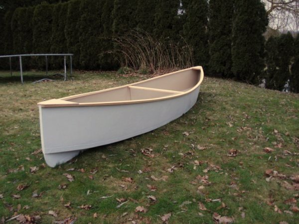 Simple and cheap canoe that tracks like a traditional touring canoe