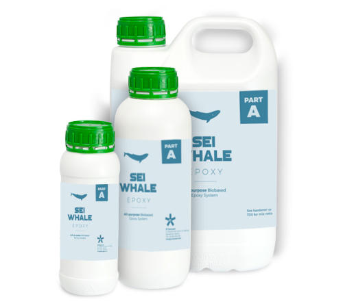 Sei Whale clear epoxy bio-resin system