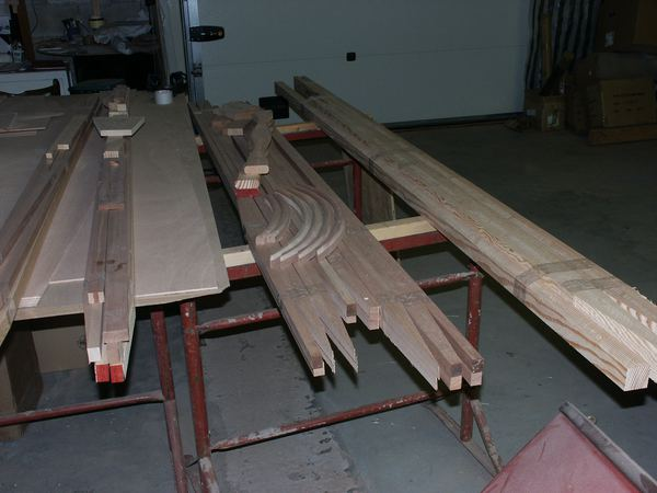 Building a canoe, joining the panels