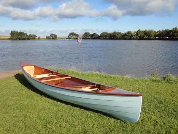 Sassafras canoe that is easily built from a Fyne Boat Kit