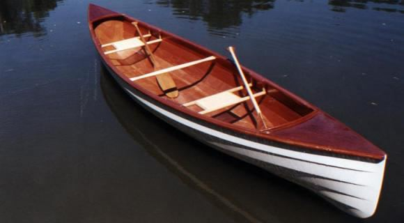 DIY Fyne Boat Kits double canoe for building at home