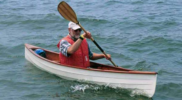 Sassafras 12 single 28 lb clinker open boat or canoe