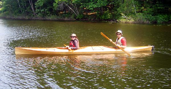 Shearwater double tandem sea kayak