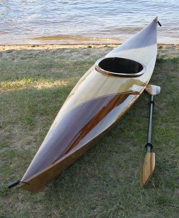 Cedar deck Fyne Boat Kits kayak kit