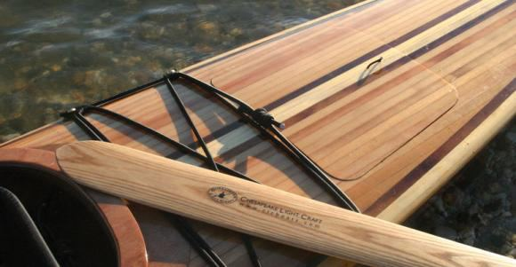Cedar deck Shearwater chesapeake kayak kit