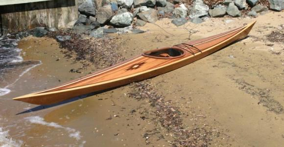 Cedar strip Shearwater kayak kit