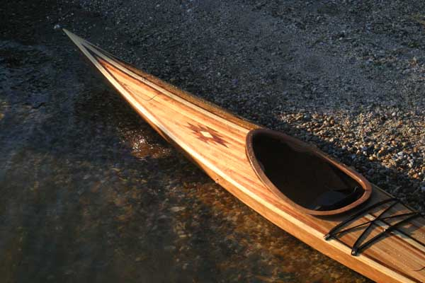 Cedar deck Shearwater kayak kit