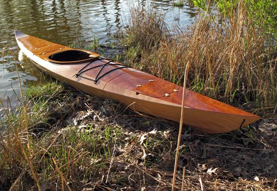 Sectional Shearwater Sport sea kayak