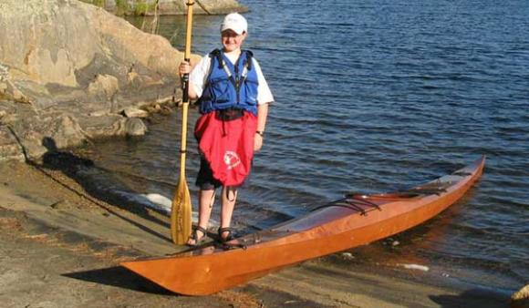 Build yourself a 14 foot Shearwater sea kayak from a kit