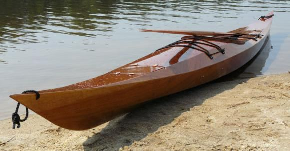 Shearwater 17 wooden kayak kit