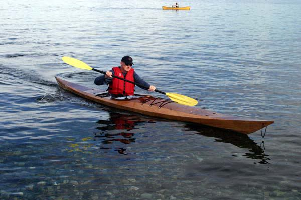 17 foot Shearwater sea kayak