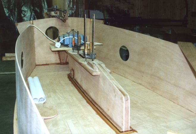 Fun building a Signet sailing dinghy