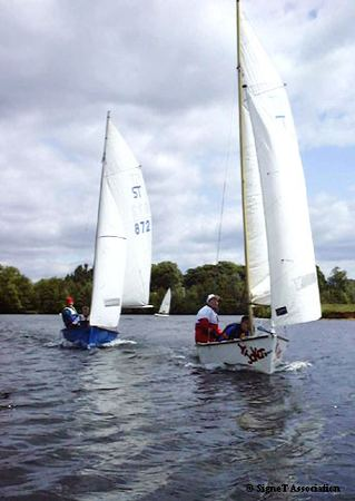 More fun racing a Signet dinghy