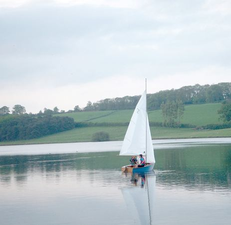 Maiden voyage of a kit built Signet sailing boat