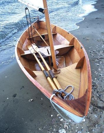 A beautifully finished Skerry sailing boat