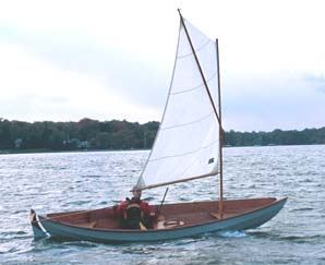 Sailing a Skerry built from a Fyne boat kit