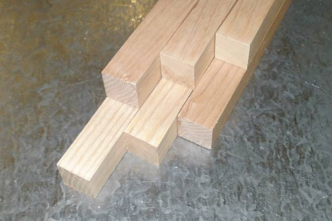 Solid Ash wood, planed to size