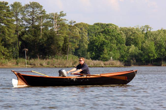 Southwester Dory rowing boat