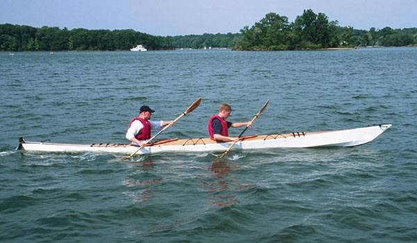 Two seat sea kayak