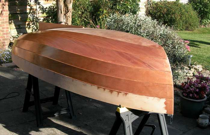 Building a stem dinghy coating with Professional Epoxy Coatings