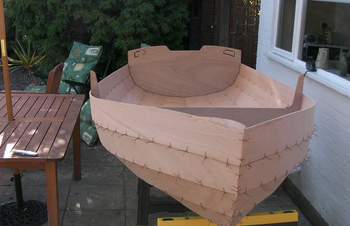 Building a yacht tender from a Fyne Boat Kit
