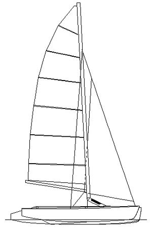 Strike 16 trimaran sail plan