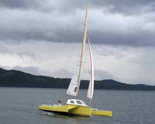 Strike 18 Trimaran - Fyne Boat Kits