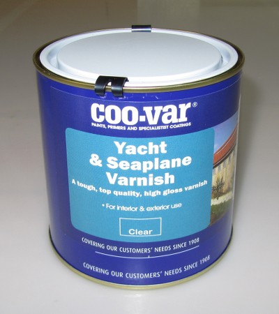 A high gloss, marine quality single-pot Coo-Var yacht varnish