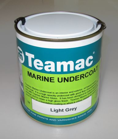 High quality Teamac marine paint undercoat with good flow characteristics