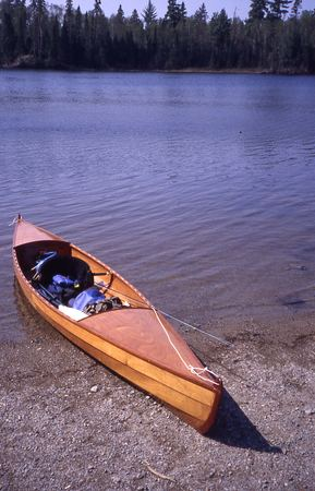 Plans to make a Voyager canoe in a week