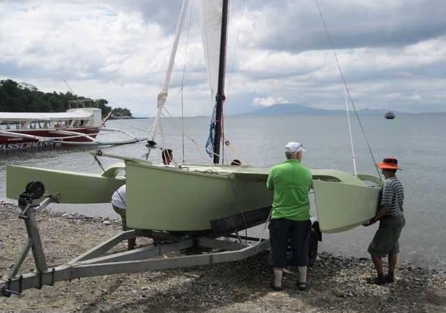 W17 Trimaran - Fyne Boat Kits