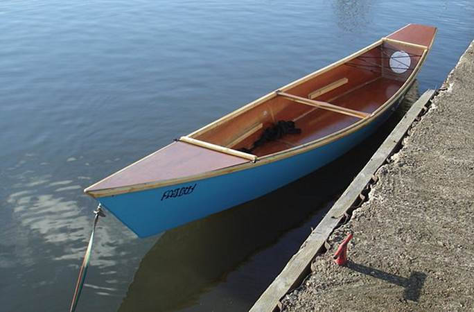 Launch of a Wastwater Canoe called fatboy