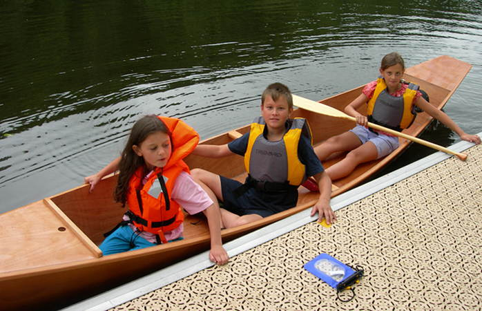 A safe canoe for families with young children - the Wastwater