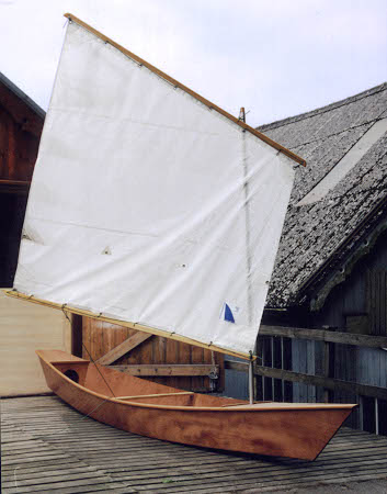 A sail will extend the range of your canoe and increase your enjoyment