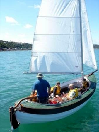 Welsford 6 metre whaler makes a comfortable day sailing boat